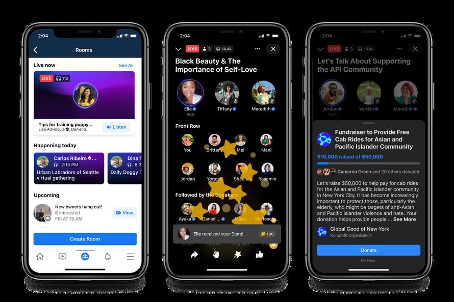 Facebook ประกาศเปิดตัวฟีเจอร์ใหม่ Social Audio