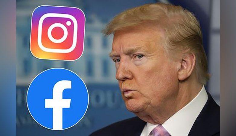 Facebook ระงับบัญชีการใช้งานของทรัมป์