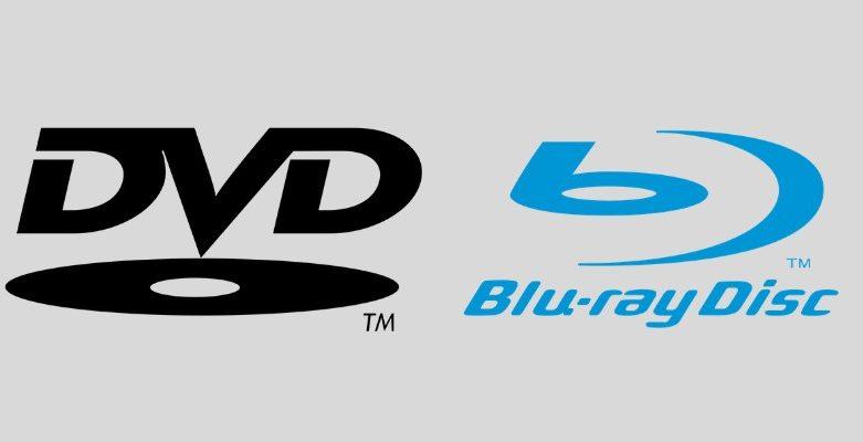 เทคโนโลยี DVDและBlu Ray